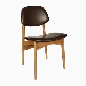 Swedish Wooden Dining Chair, 1970s