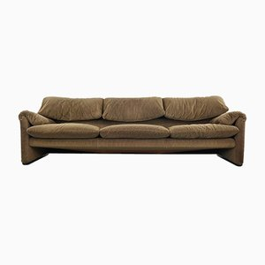 3-Seater Maralunga Sofa by Vico Magistretti for Cassina, 2000s