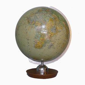 Politischer Vintage 32 cm Globus von JRO-Verlag, 1960er