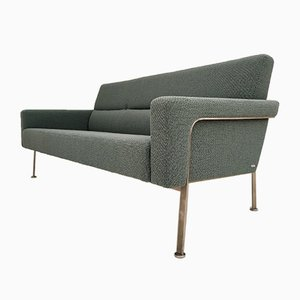 Danish Kvadrat Wool AV56 3-Seat Lounge Sofa by Arne Vodder for Nielaus Møbler, 2005
