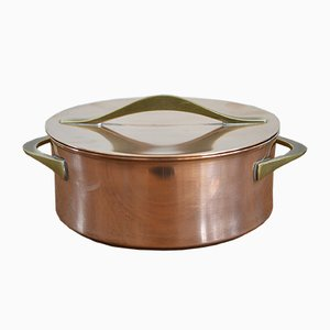 Copper Pot by Jens Quistgaard for Dansk Design, 1960s