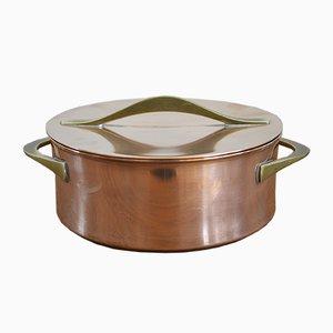 Pot en Cuivre par Jens Quistgaard pour Dansk Design, 1960s