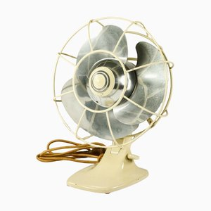 Vintage Bauhaus Model VEB 25 Fan from AEG