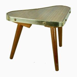 German Heart-Shaped Side Table, 1950s