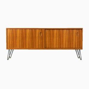 Walnuss Furnier Sideboard von WK Möbel, 1950er
