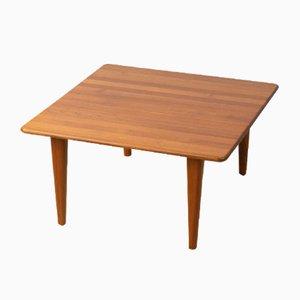 Solid Teak Coffee Table, 1960s