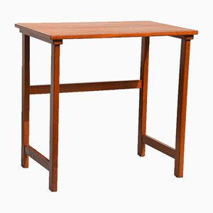 Small Vintage Scandinavian Teak Side Table, 1960s
