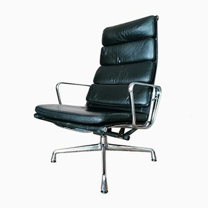Vintage Model EA222 Swivel Chair by Charles & Ray Eames for Vitra, 1980s