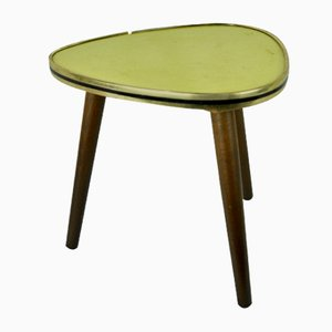 German Yellow Side Table, 1950s