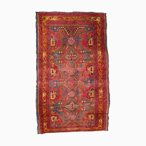 Antique Turkish Oushak Rug, 1870s