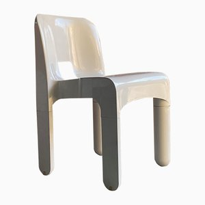 Model 4867 Universale Dining Chairs by Joe Colombo for Kartell, 1960s, Set of 6