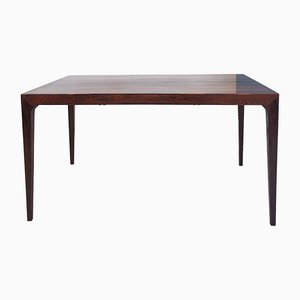 Danish Rosewood Dining Table from Schou Andersen, 1960s