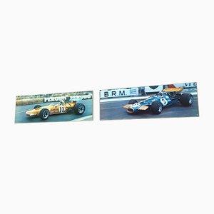 Vintage Formule I Poster, 1970s, Set of 2