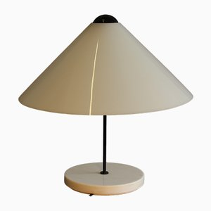Italian Model Snow Table Lamp by Vico Magistretti for Oluce, 1976