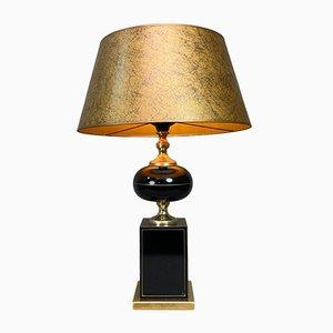 Lampada da tavolo vintage in stile Regency di Le Dauphin, anni '70