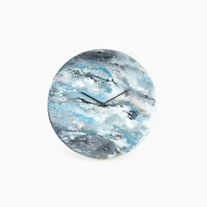 Large Wall Clock Modern Home Decor for Living Room by Craig Anthony