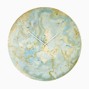 Reloj de arte extra grande circular con luces de Craig Anthony