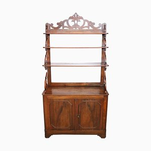 Antique Buffet with Shelves, 1850s