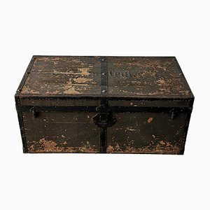 Antique Military Travel Trunk, 1910s