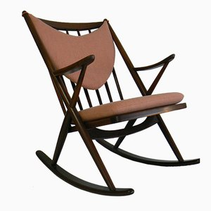 182 Rocking Chair by Frank Reenskaug for Bramin, 1958