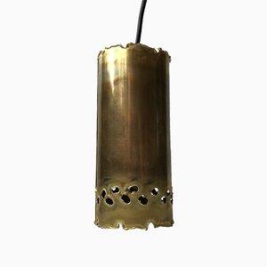 Brutalist Brass Ceiling Lamp by Svend Aage Holm Sørensen for Holm-Sørensen & Pedersen, 1970s