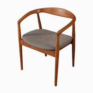 Walnut Armchair, 1960s