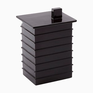 Small Building Box 5404B in Black by Ferréol Babin for Pulpo
