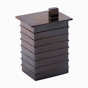 Small Building Box 5404BR in Metal Brown by Ferréol Babin for Pulpo
