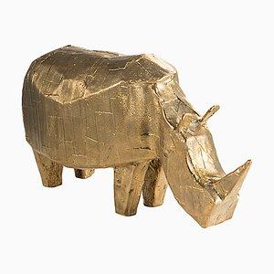 Rhino 5700RH aus Bronze von Kai Linke für Pulpo