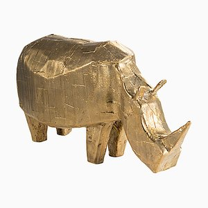 Rhino 5700RH in bronzo di Kai Linke per Pulpo