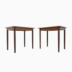 Mid-Century Danish Rosewood Nightstands from Soberg Mobelfabrik, Set of 2