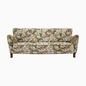 1669A 3-Seat Sofa from Fritz Hansen, Denmark, 1940s