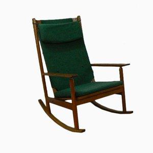 Rocking Chair Mid-Century par Hans Olsen pour Juul Kristensen, 1963