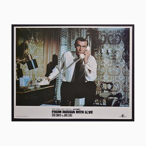 James Bond 007 aus Russland mit Love Lobby Card, 1980er