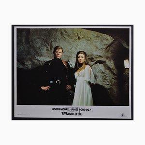James Bond 007 Live and Let DIe Lobby Card, UK, 1973