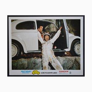 Affiche du Film Herbie Goes to Monte Carlo Original du Lobby, Etats-Unis, 1977