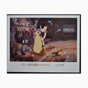 Snow White and the Seven Dwarfs Lobby Card of Walt Disney's Movie, USA, 1937
