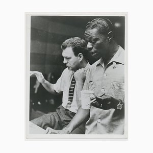 Nat King Cole und Nelson Riddle, 1963