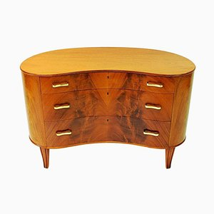 Mahogany Chest of Drawers by Axel Larsson for Bodafors, Sweden, 1940s