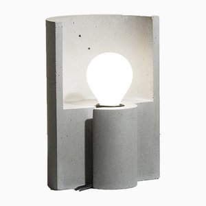 Esse Table Lamp in Grey from Plato Design