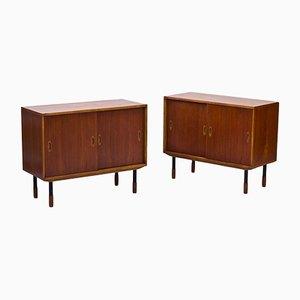 Schwedische Sideboards von Westbergs Möbler, 1950er, 2er Set