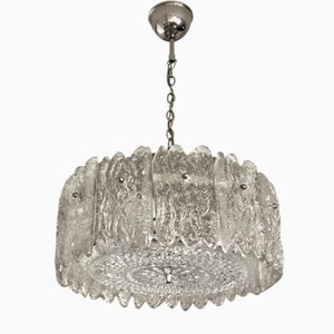 Crystal Pendant Lamp by Carl Fagerlund for Orrefors, 1960s