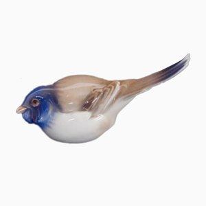 Vogelfigur aus Porzellan von Bing & Grondahl, 1970er