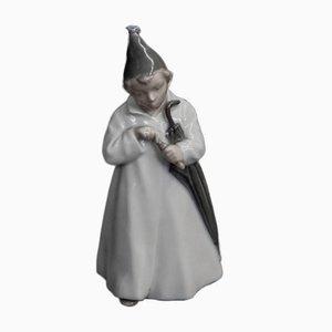 Mid-Century Porcelain Sandman Figurine from Royal Copenhagen