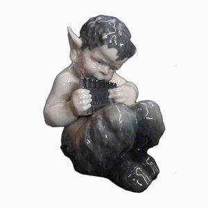 Figurine Faune en Porcelaine de Royal Copenhagen, 1960s