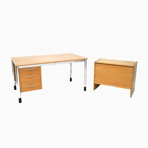 Signatur Desk and Cabinet Set by Tord Bjorklund for Ikea, 1980s