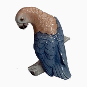 Parrot Figurine from Bing & Grondahl, 1983