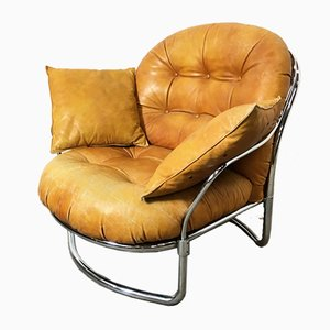 Italian Model 915 Lounge Chair by Carlo de Carli for Cinova, 1960s