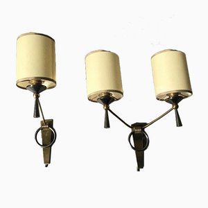 Mid-Century Sconces from Arlus, 1950s, Set of 2