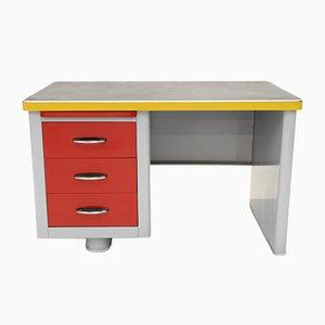 Stahl Junior Schreibtisch von Ahrend De Cirkel, 1950er